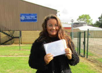 Pupils at Prince William School celebrate top GCSE results