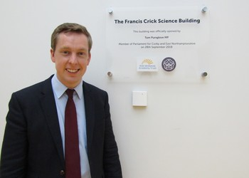 Official opening of Francis Crick Science Building at Prince William School in Oundle