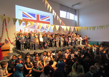 Pupils step back in time for wartime tea dance at Castle Academy