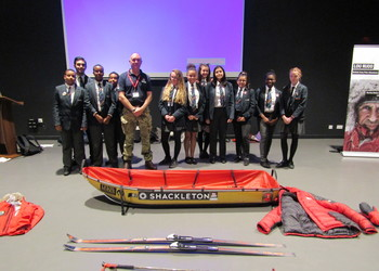 Northampton International Academy Pupils Inspired by Antarctic Explorer