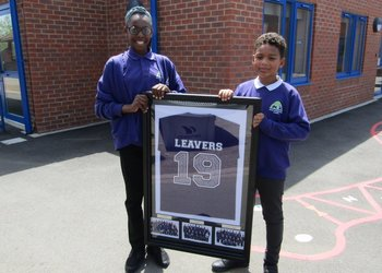 Fitting goodbye to Orchard Academy's Year 6