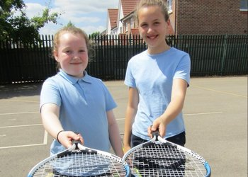 Hardingstone Academy serves up an ace with Wimbledon Day