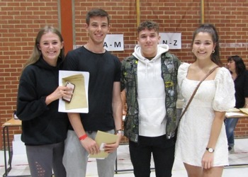 Prince William School celebrates outstanding A level results