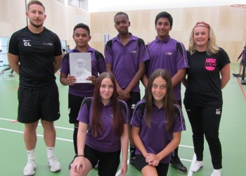 Northampton International Academy Scores Silver School Games Award