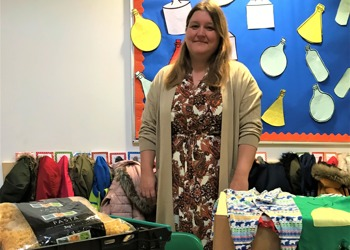 Castle Academy food bank supports families in need during half-term
