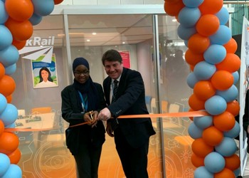 NIA's Tigui helps to open new STEM learning facility at Network Rail