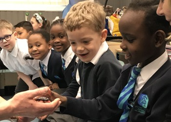 Pupils joined by creatures great and small as part of British Science Week