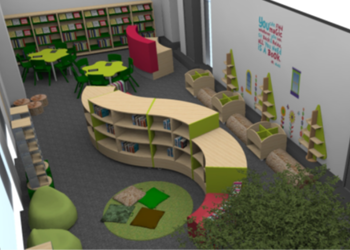 New chapter for pupils at NIA as work starts on primary phase library