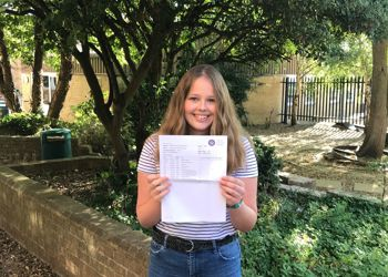 Students at Prince William School have seen their hard work rewarded as they received their KS4 results today